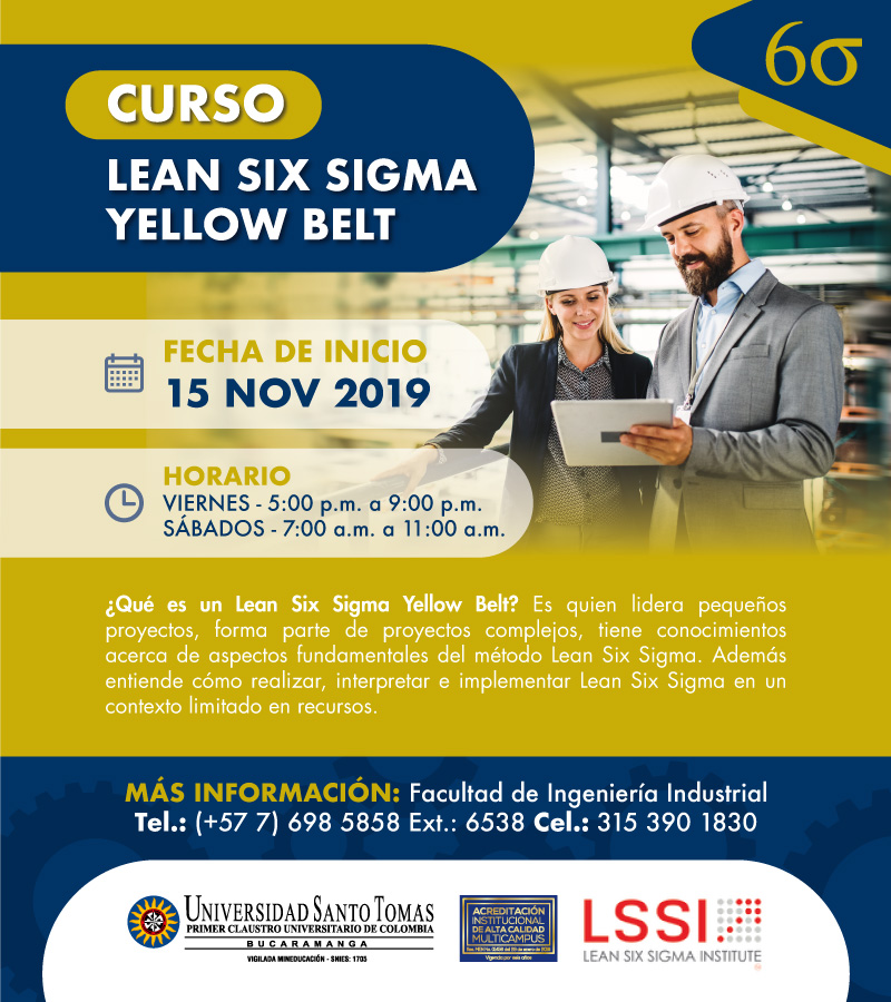 Curso Lean Six Sigma Yellow Belt Nov2019
